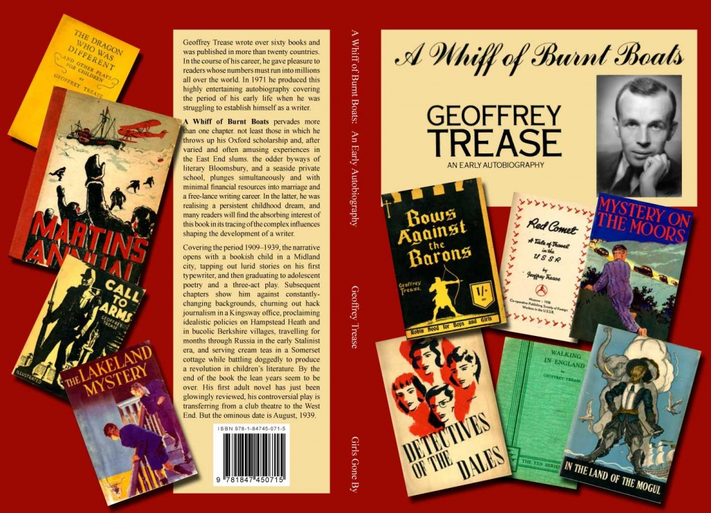 A Whiff of Burnt Boats by Geoffrey Trease