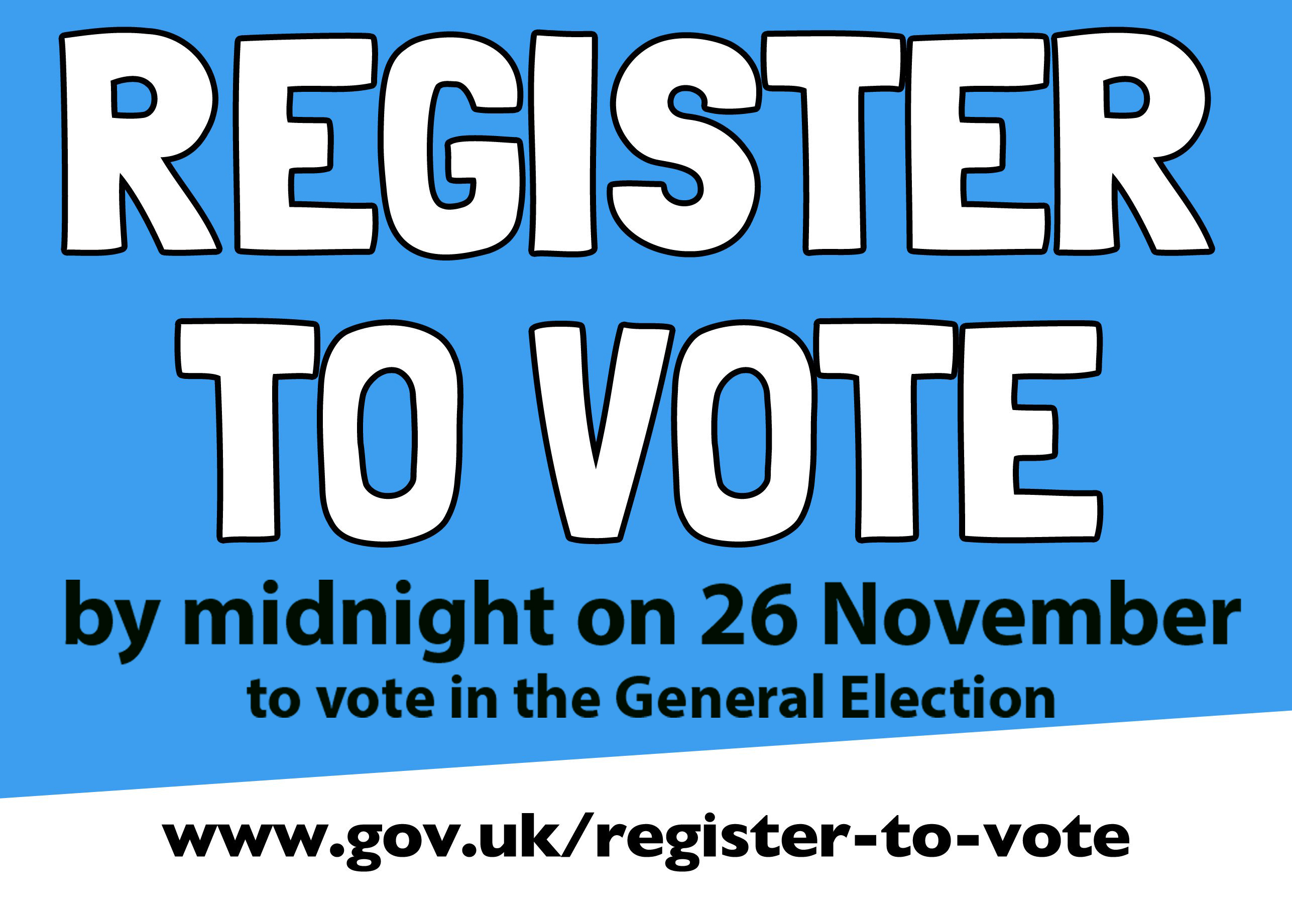 Register to Vote Leaflet page 1